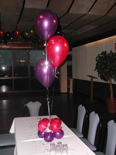 3 Balloon Table Centres