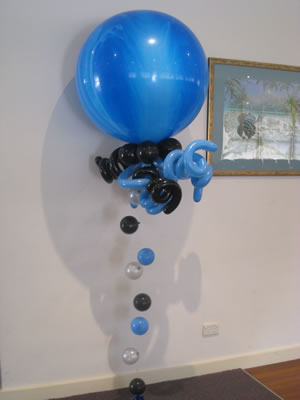 3ft bubble strand balloons