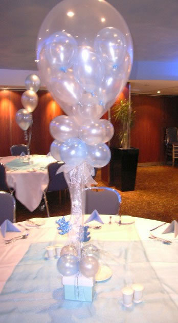Baby  Bubbles table centre