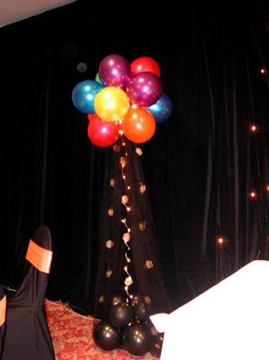 Elegant Tulle Balloon Topiaries