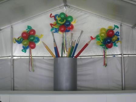 Google Topiaries Balloon Promotion