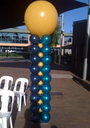 Square Packed Column with 3' Balloon