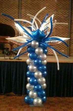 Funky Taper Balloon Column