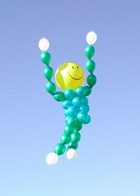 Smiley Face Man Balloon Creation