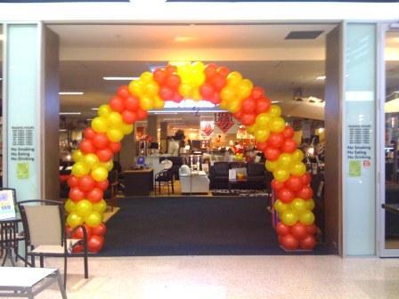 Two Colour Balloon Arch