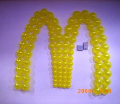 McDonalds Logo wall