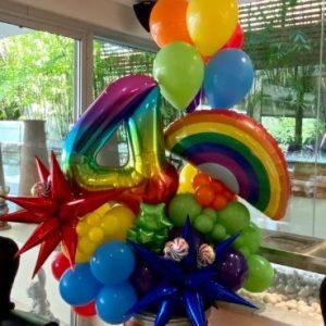 Rainbow Marquee $125.00